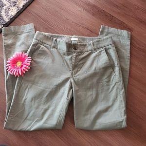 J.Crew Frankie Pants size 4 Stretch
